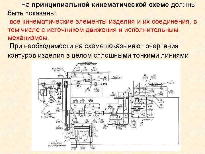 Кинематика станков