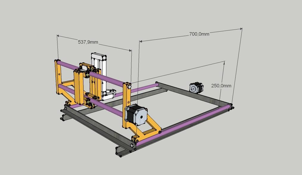 Фрезерный станок с чпу своими руками: конструкция, размеры