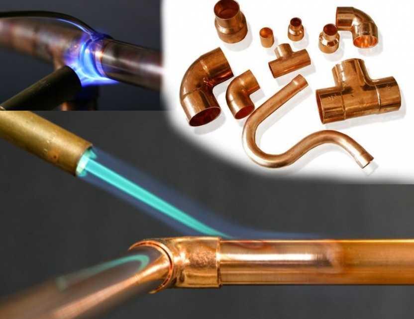 Как паять медь в домашних условиях: запаять трубы пропановой горелкой - это легко
