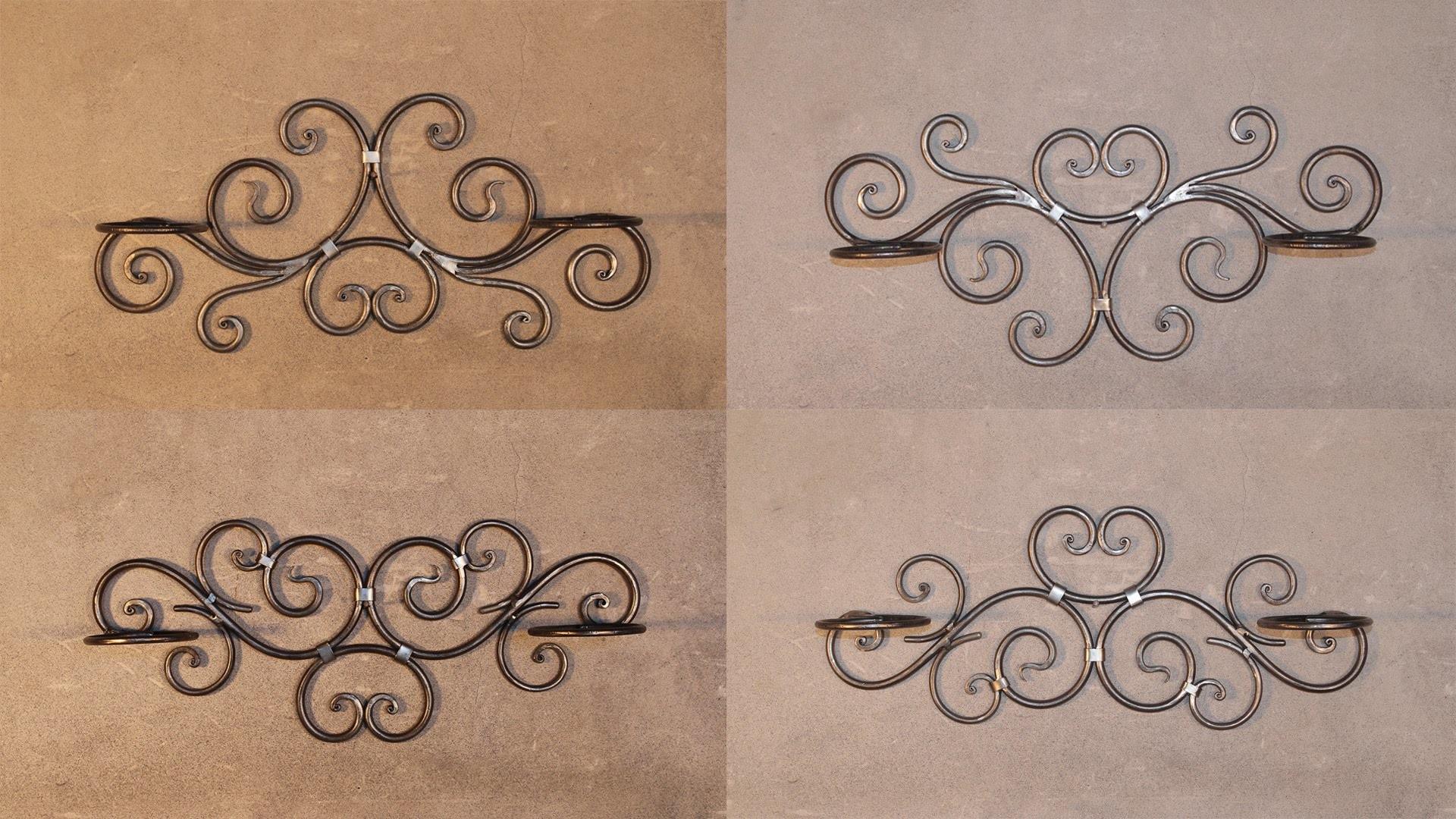 Составные элементы холодной ковки: технология создания красивого кованого художественного орнамента