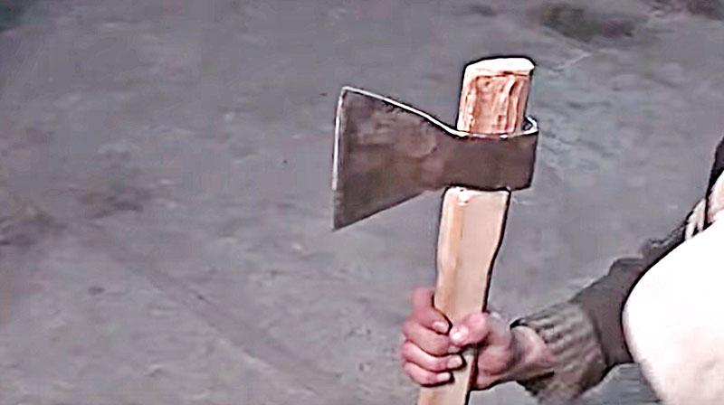 Топорище для топора — делаем своими руками