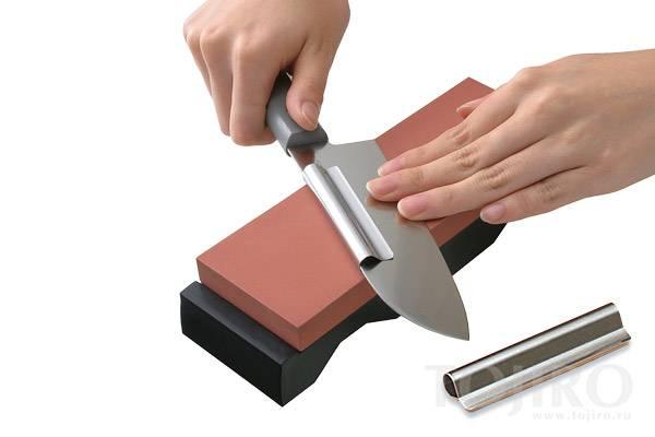 Угол заточки ножей