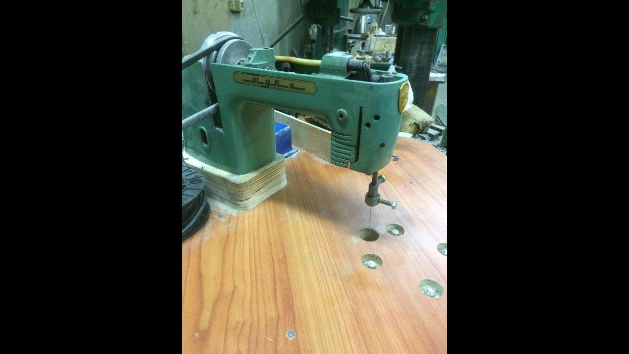 Лобзик из швейной машинки своими руками. стационарный лобзик из швейной машинки своими руками