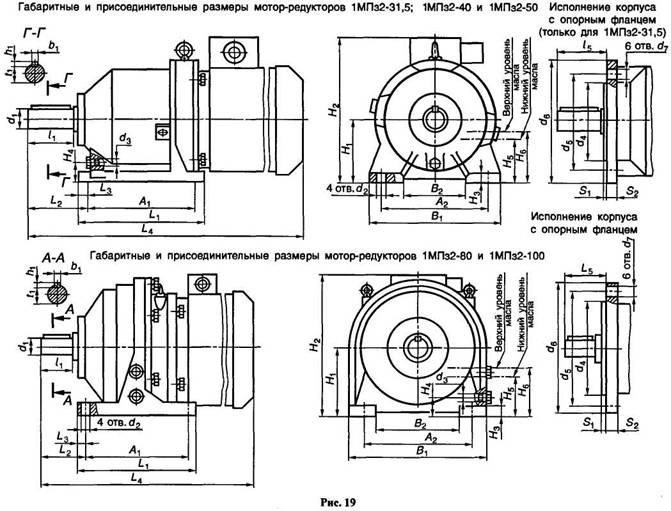 Одноступенчатый редуктор: схема и исполнение