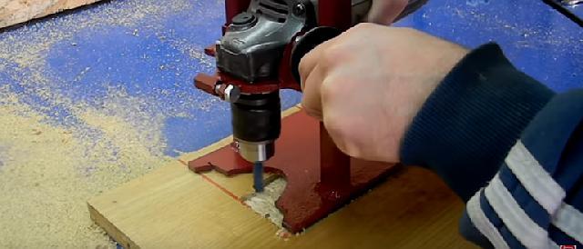 Как сделать фрезер из дрели своими руками - qteck.ru