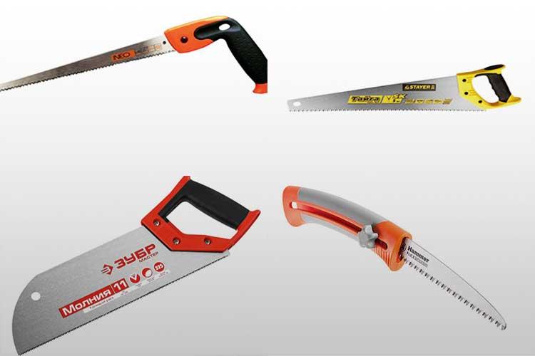 Ножовки по дереву: виды и характеристики