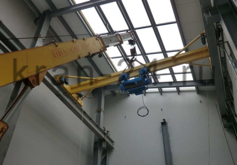 Монтаж кран-балок, тельферов, мостовых кранов и иного подъёмного оборудования