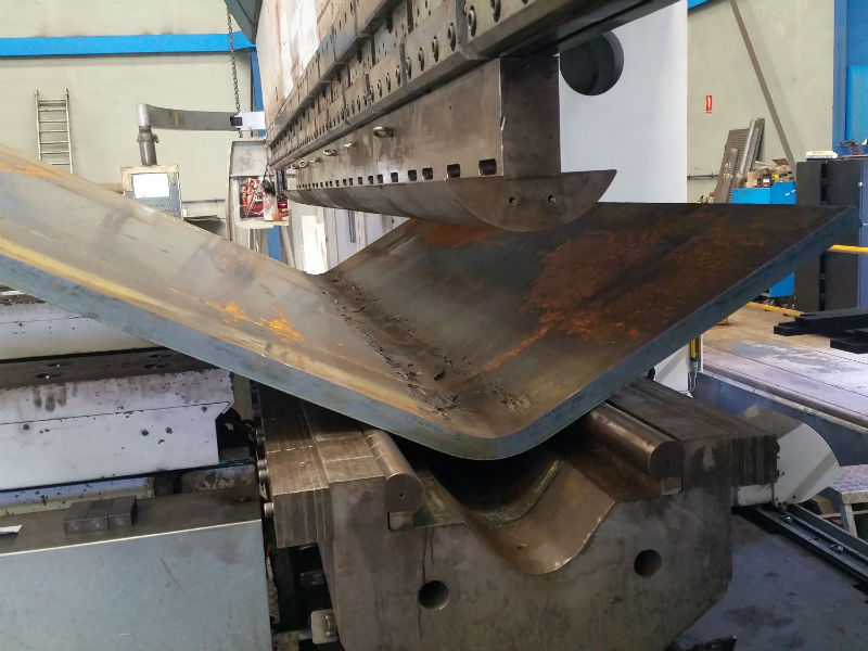 Станок для гибки листового металла – как работает, каким бывает? + видео