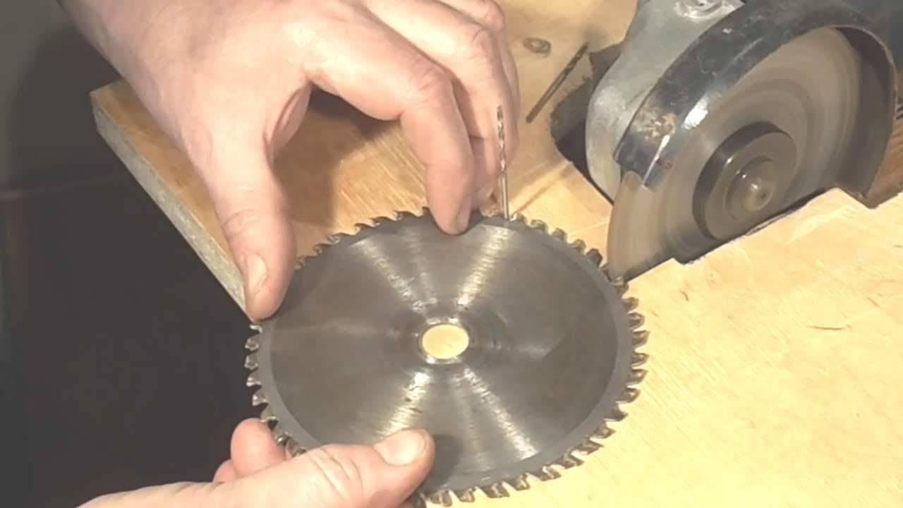 Заточка дисковых пил: как заточить зубья диска циркулярки