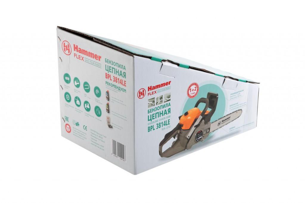 Бензопила hammer bpl4518a (104-013) купить за 7599 руб в краснодаре, отзывы, видео обзоры и характеристики