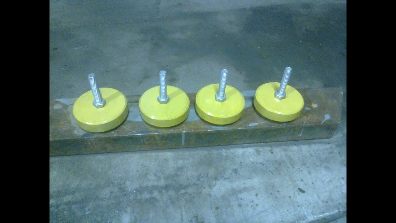Виброопоры для токарных и шлифовальных станков видео, фото