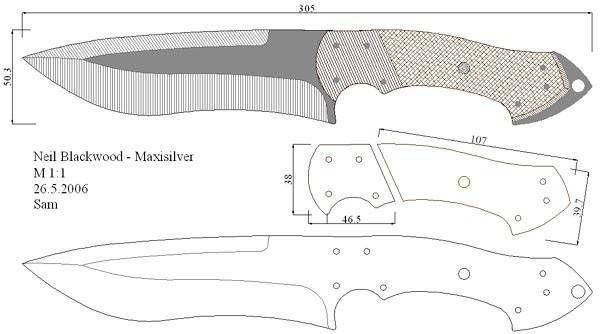 Как сделать метательный нож своими руками