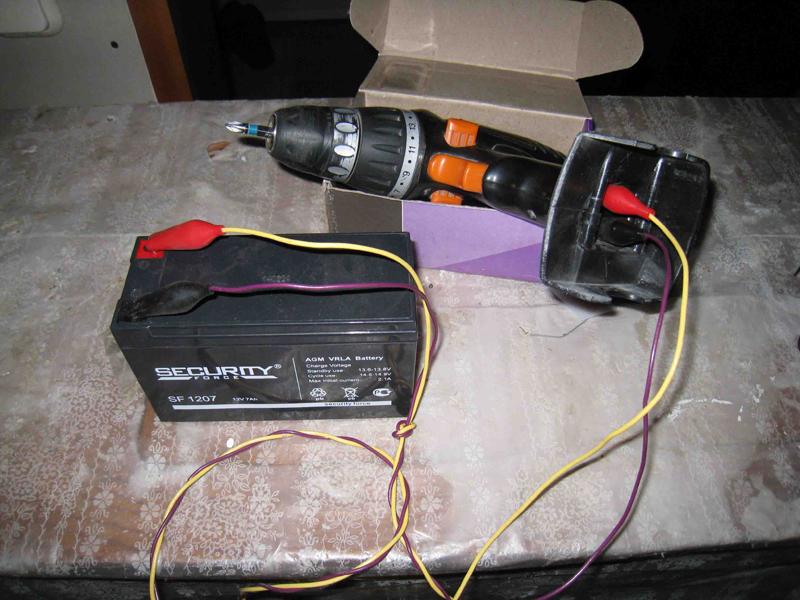 Как сделать из аккумуляторного шуруповерта сетевой