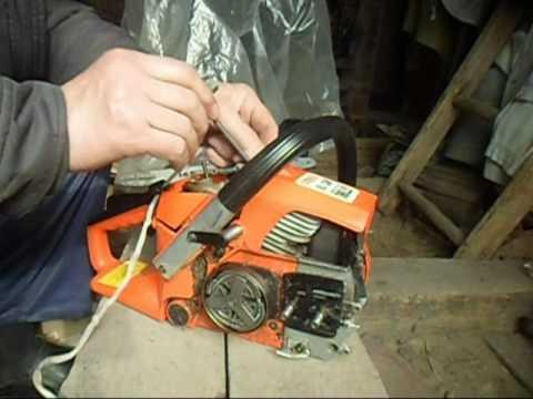 Как снять и заменить муфту на бензопиле — ремонт и регулировка