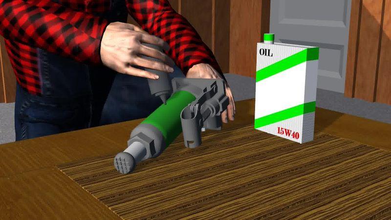 Как залить масло в домкрат