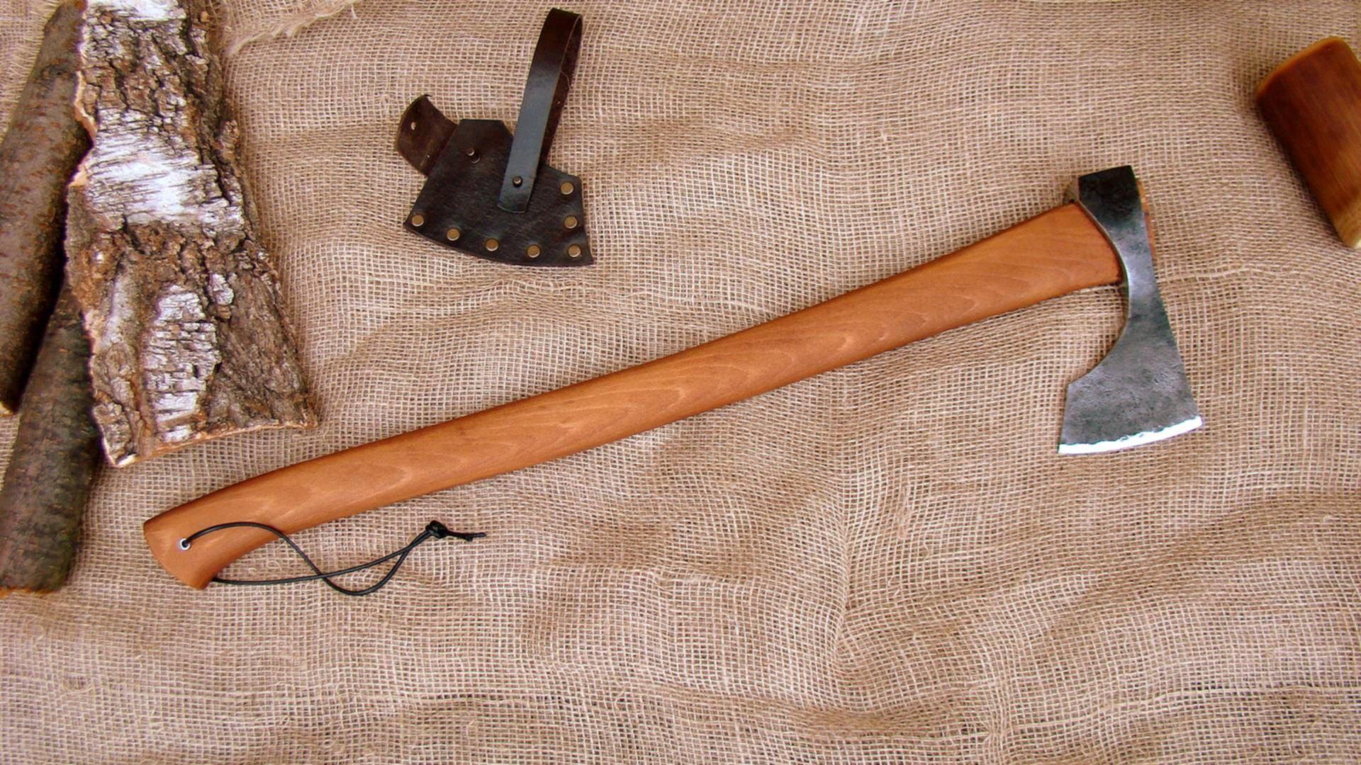 Как сделать топор своими руками из простого топора и других материалов: пошаговая инструкция