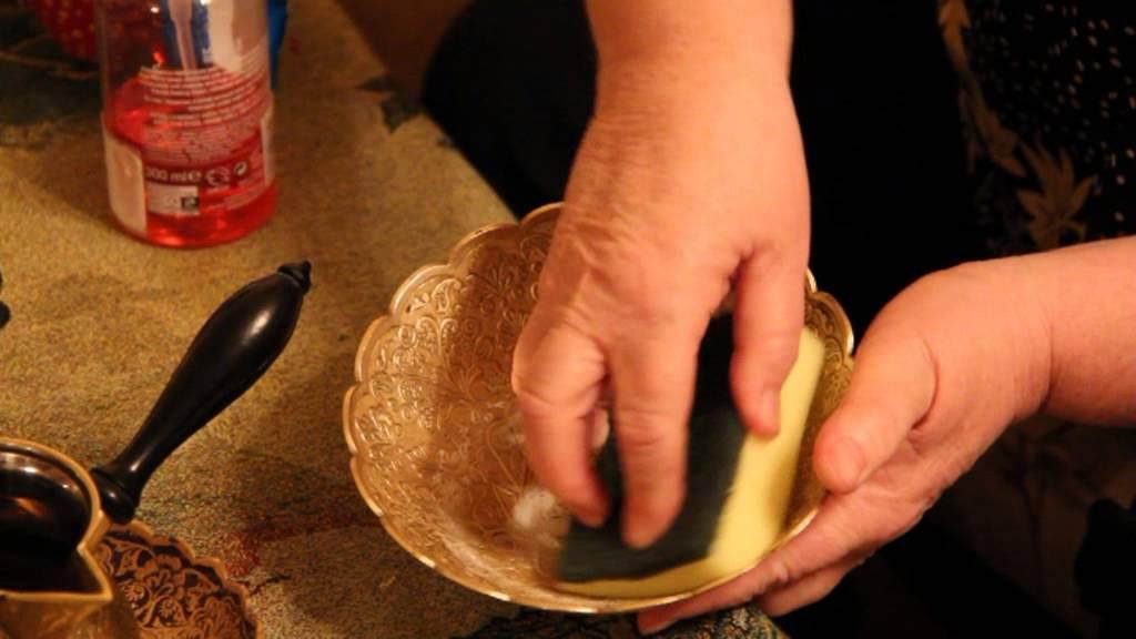 Как очистить медь от зеленого налета в домашних условиях - лучшие средства