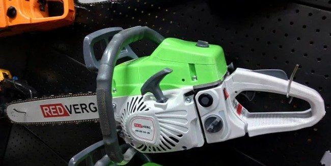 Бензиновая пила redverg rd-gc50-16 2.7 л.с: отзывы, описание модели, характеристики, цена, обзор, сравнение, фото