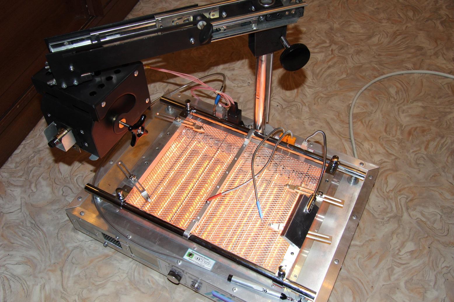Паяльная станция, сделанная своими руками: инфракрасный нагреватель из прикуривателя и термовоздушный фен
