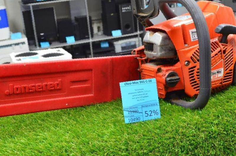 Итальянская бензопила олео мак 936 для бытовых нужд