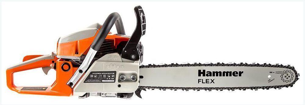 Бензопила hammer flex bpl4518a 104-013: обзор, отзывы