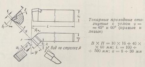 Резцы для токарного станка по металлу - классификация, заточка