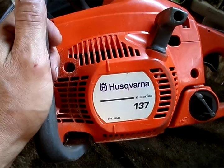 Husqvarna 137 не набирает обороты - xl-info.ru