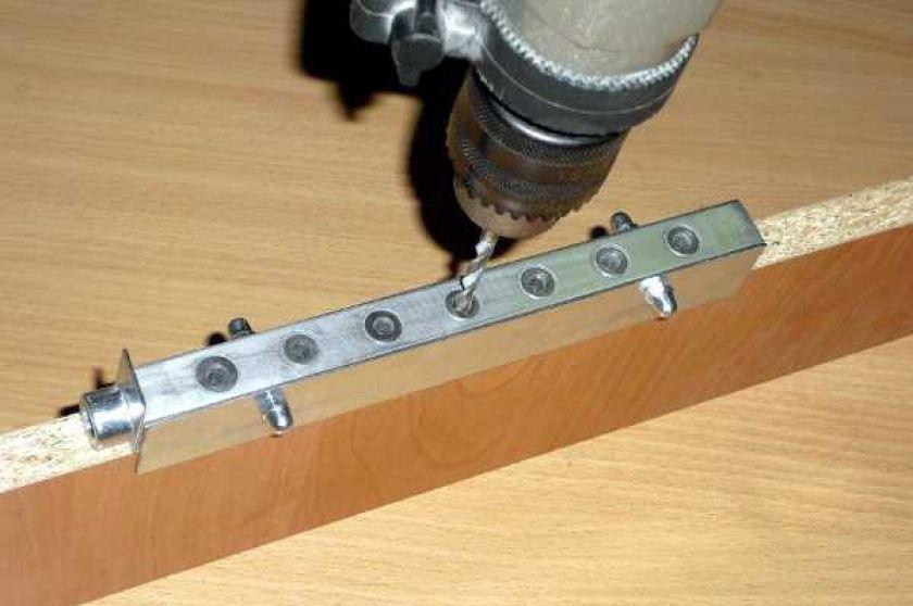 Делаем кондуктор для сверления отверстий своими руками