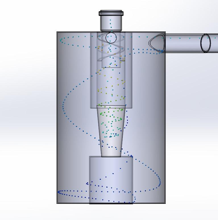 Циклон для очистки воздуха от пыли: назначение, принцип работы, характеристики