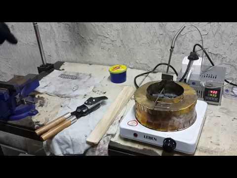 Электротигель своими руками - металл