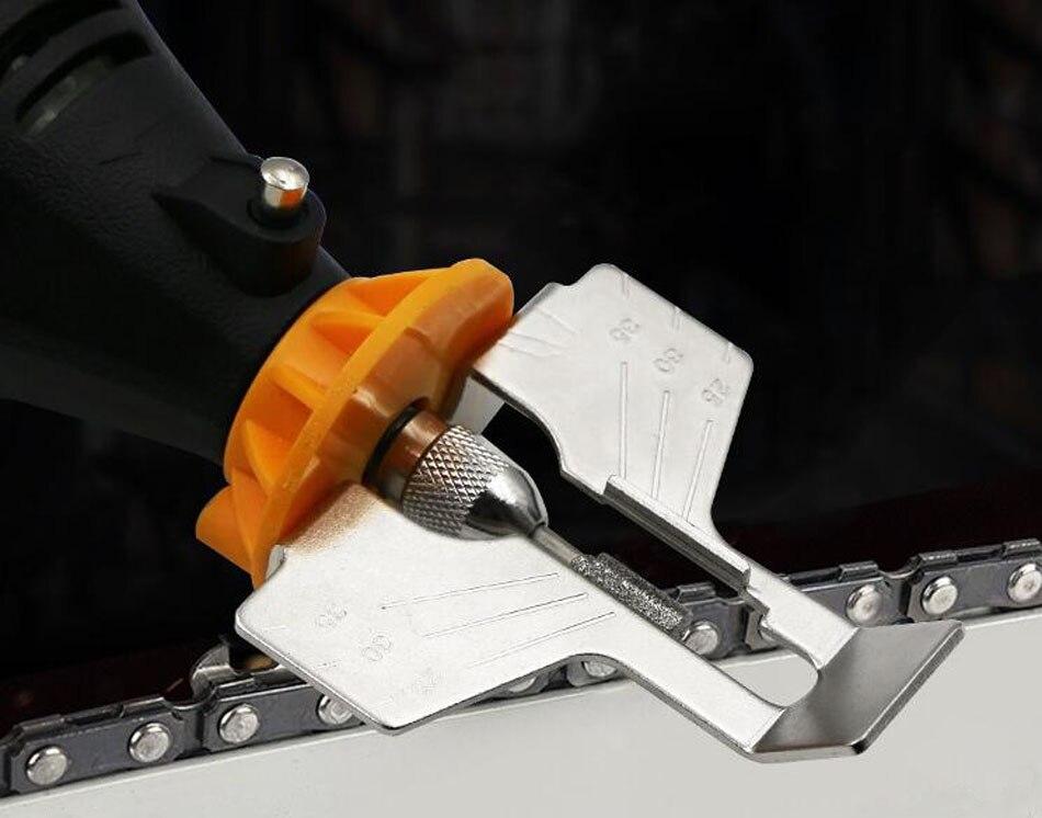 Как заточить цепь бензопилы. правила заточки напильником. инструменты для заточки.