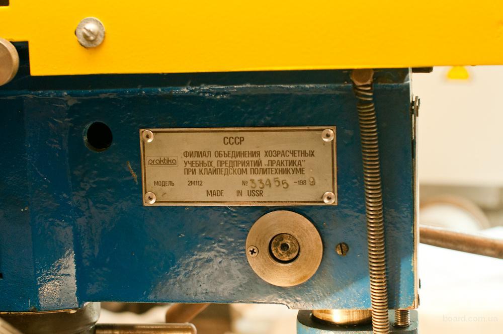 Сверлильный настольный станок 2м112 надежен как всегда