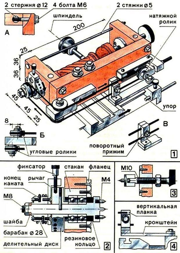 Токарный станок своими руками – агрегат не хуже заводского!