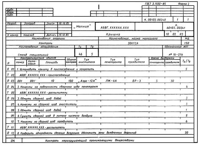 Гост 3.1118-82: единая система технологической документации. формы и правила оформления маршрутных карт