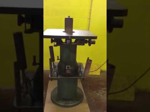 Осцилляционный шпиндельный шлифовальный станок своими руками - справочник металлиста