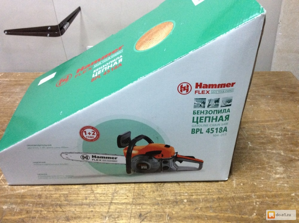 Цепные бензопилы hammer с немецким характером