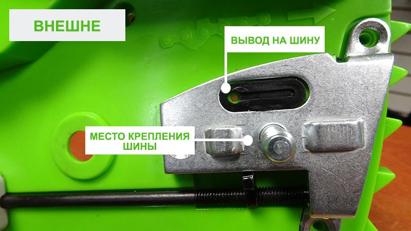 Не смазывается цепь на бензопиле партнер 350
