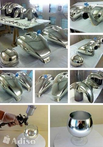 Какое оборудования для химической металлизации?