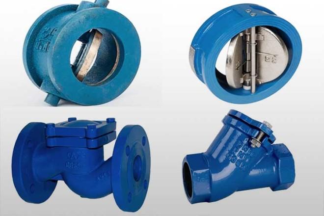 Как выбрать обратный клапан для воды: виды и характеристики