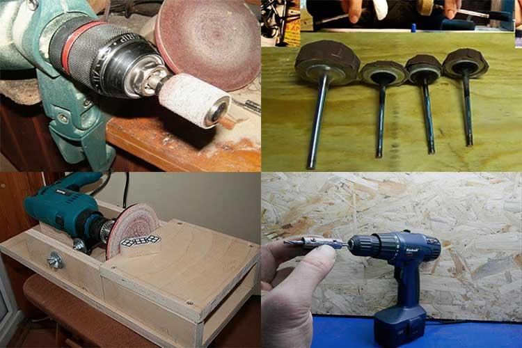 Насадки на перфоратор или как расширить функционал инструмента
