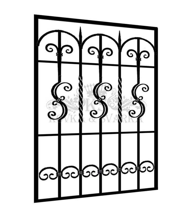 Цены на металлические решетки на окна