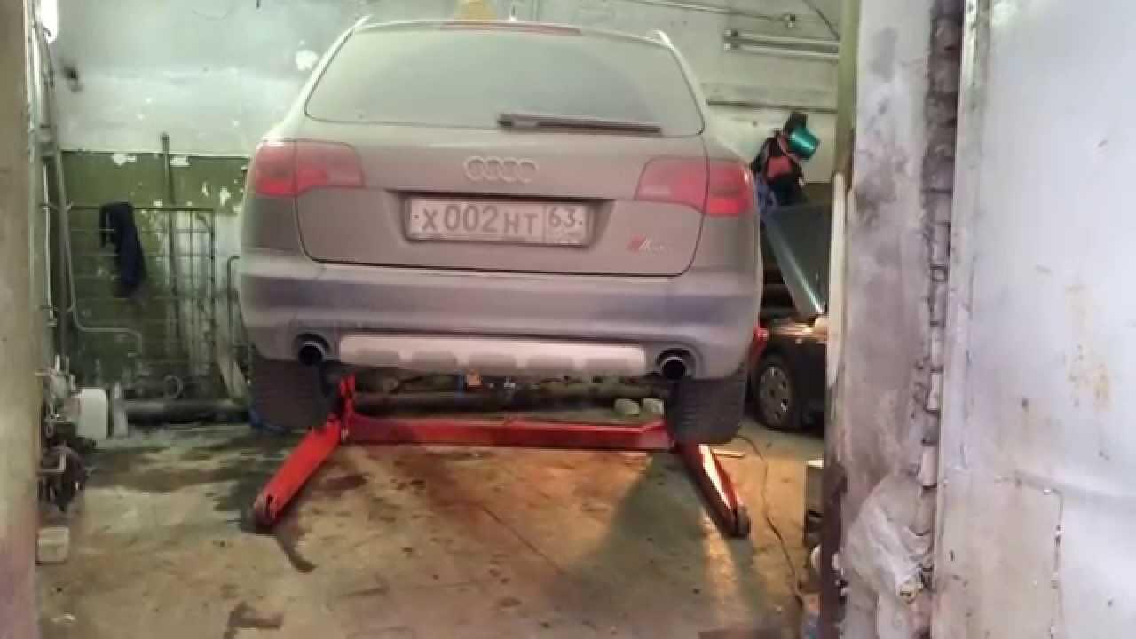 Автомобильный подъёмник в гараж: изготовление подъёмного устройства своими руками