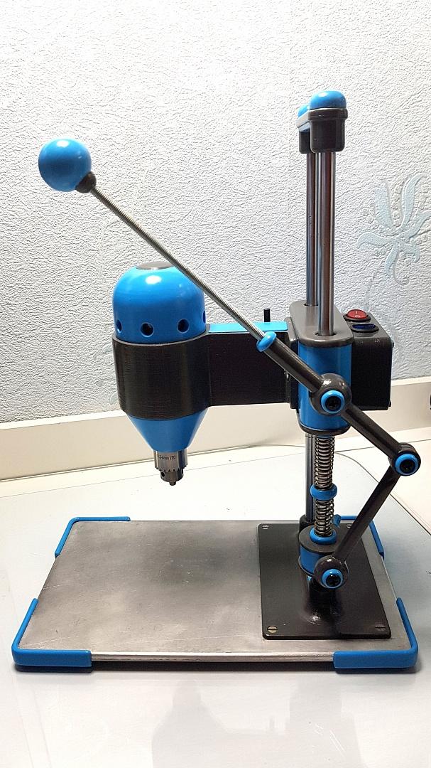 Сверлильный станок своими руками для печатных плат