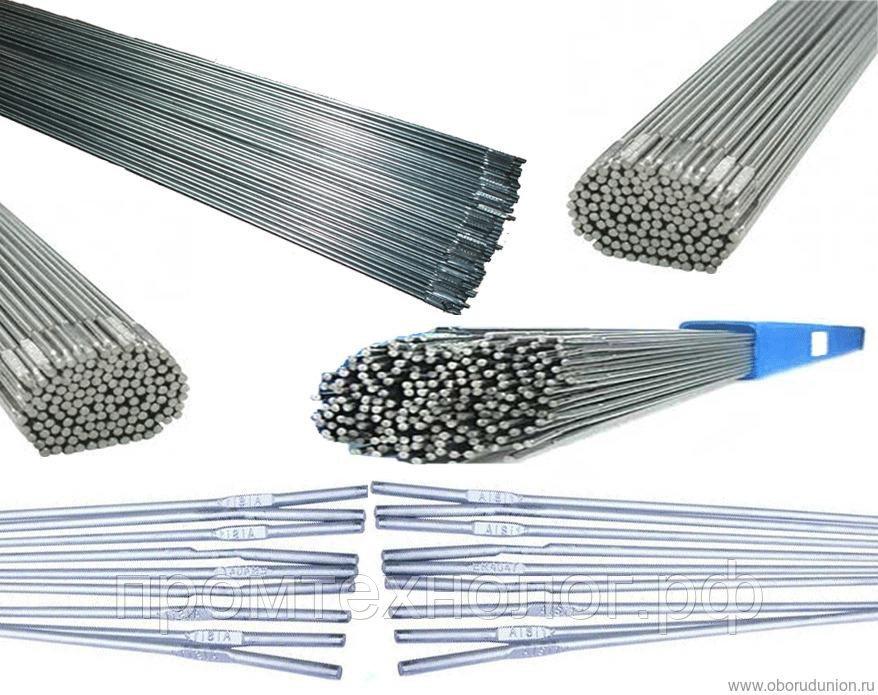 Выбираем сварочную проволоку для газовой сварки различных сплавов
