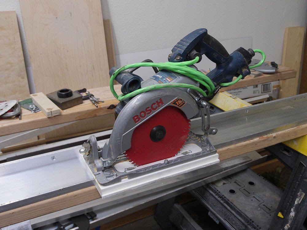 Направляющая шина для циркулярной пилы своими руками - подробная инструкция -2020- википедия - instrument-wiki.ru