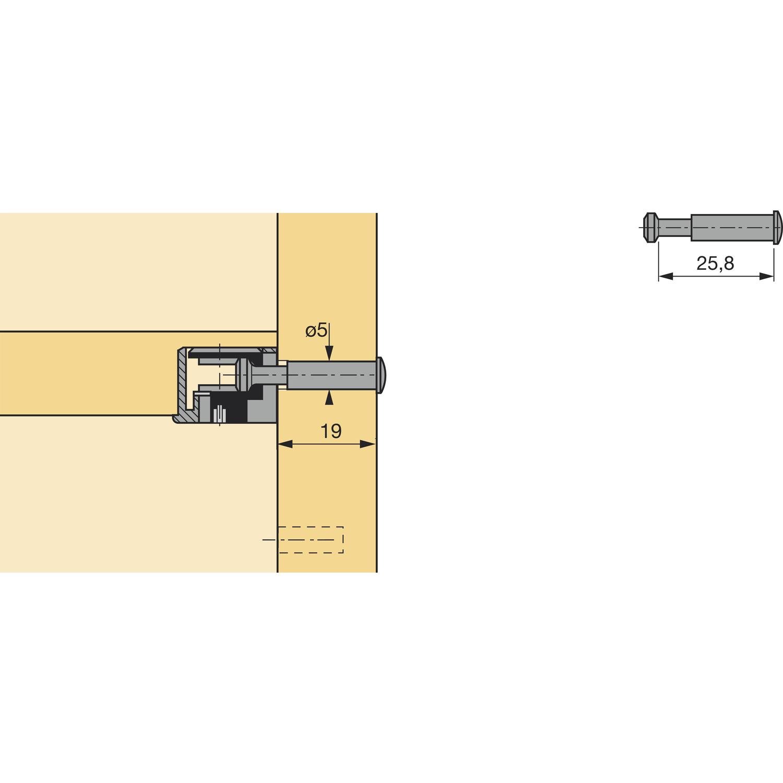 Как закручивать эксцентрик мебельный - moy-instrument.ru - обзор инструмента и техники