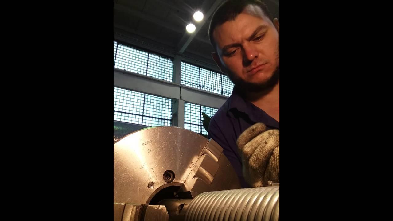 Навивка пружины на токарном станке: способы, видео - токарь