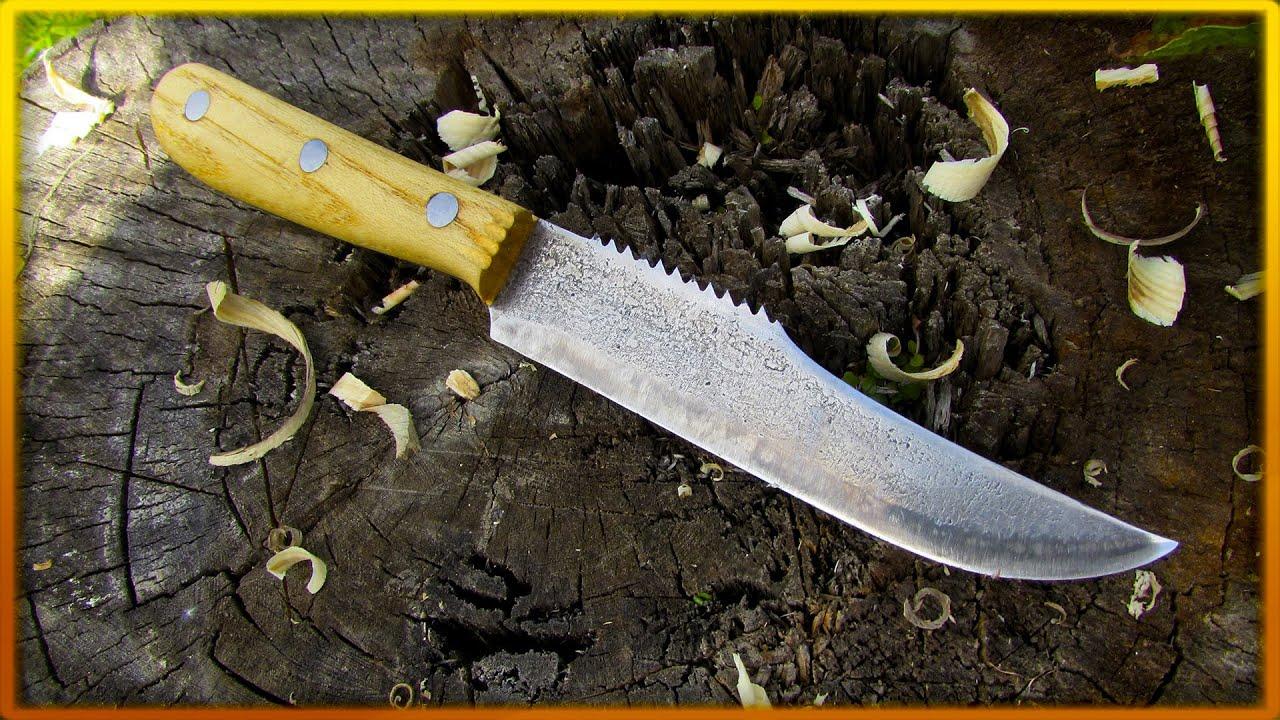 Нож из диска циркулярной пилы своими руками: как сделать нож для резьбы по дереву из круга циркулярки по чертежам? пошаговое изготовление
