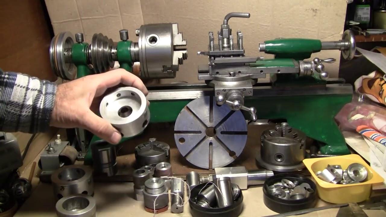 2 варианта сборки токарного станка по металлу своими руками