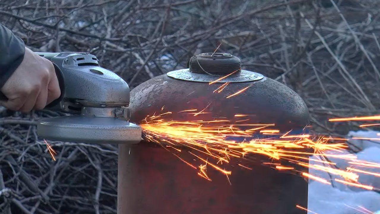 Как правильно разрезать газовый баллон – правильно и безопасно разрезаем старый газовый баллон – сервис-инструмент
